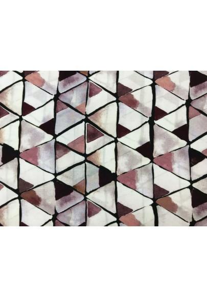 """Wiskoza """"trójkąty"""" - 0"""