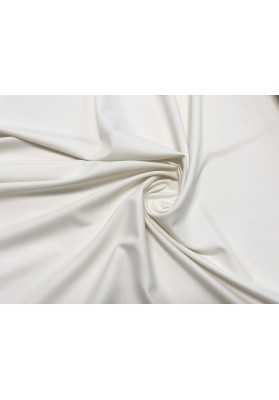 Wełna ubraniowa 150 's lila double face biała - 1