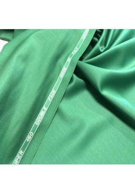 Wełna ubraniowa 150 's  double face zieleń - 3