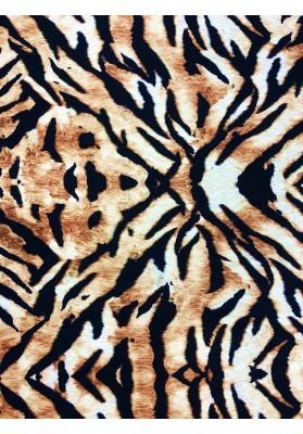 Wełna z jedwabiem tygrys II - 1
