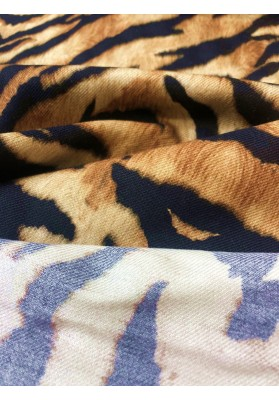 Wełna z jedwabiem tygrys II - 5