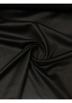 Wełna płaszczowa kaszmir 100% czarny - 1