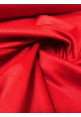 Wełna płaszczowa kaszmir czerwień - 1