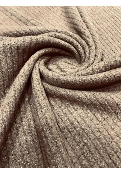Dzianina swetrowa beż - 1
