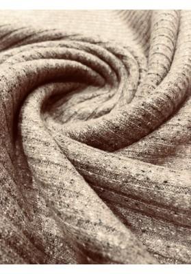 Dzianina swetrowa beż - 3