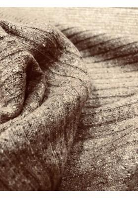 Dzianina swetrowa beż - 5