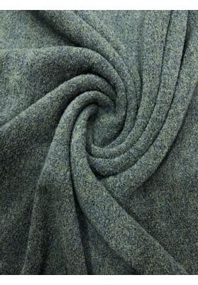 Dzianina swetrowa wełna z kaszmirem odcienie morskie - 1