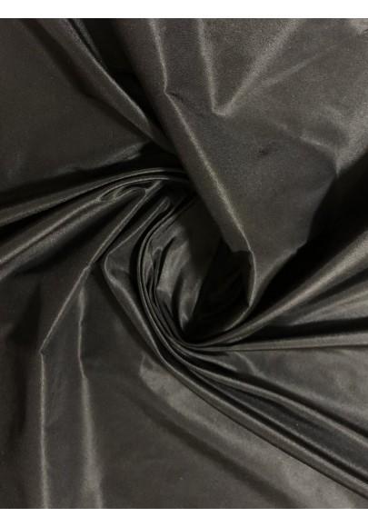 Tafta jedwabna czarna - 1