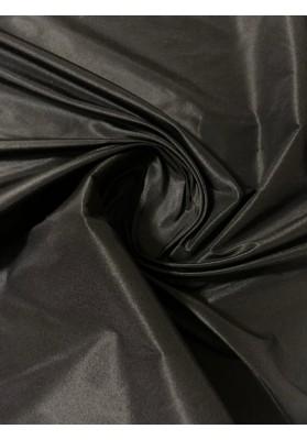 Tafta jedwabna czarna - 2
