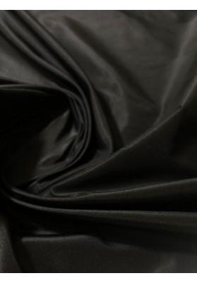 Tafta jedwabna czarna - 3