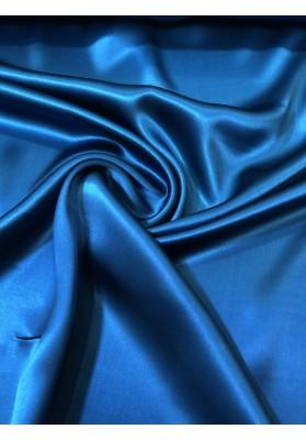 Satyna jedwabna niebieski morski II - 1