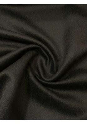 Wełna płaszczowa kaszmir czarna II - 1