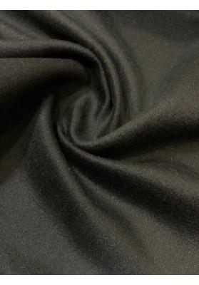 Wełna płaszczowa kaszmir czarna II - 2