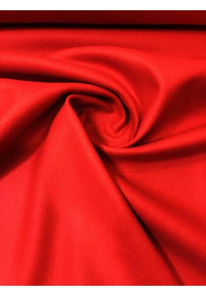 Wełna płaszczowa ambasador czerwień wysoka gramatura - 1