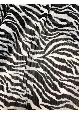 Tiul plisowany zebra - 1