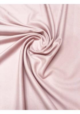 Wełna płaszczowa kaszmir pudrowy róż - 1