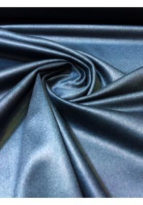 Wełna płaszczowa kaszmir średnia grubość niebieski morski - 1