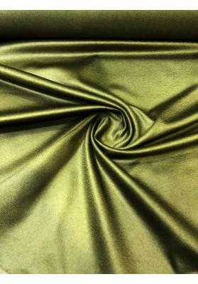 Wełna płaszczowa kaszmir średnia grubość oliwka - 1