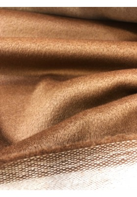 Wełna płaszczowa MM ciemny beż - 1