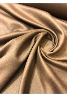 Wełna płaszczowa kaszmir camel ciemny - 2