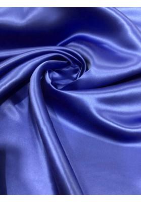 Satyna dwustronna potrójna grubość niebieski - modrak - 1