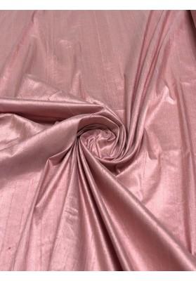 Szantung jedwabny  róż - 1