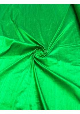 Szantung jedwabny  zieleń - 1