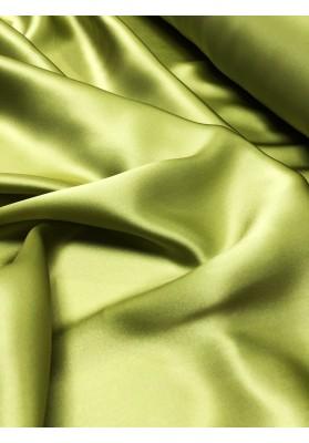 Satyna jedwabna zieleń oliwkowa - 1