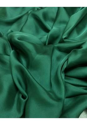 Muślin jedwabny szmaragdowa zieleń - 1